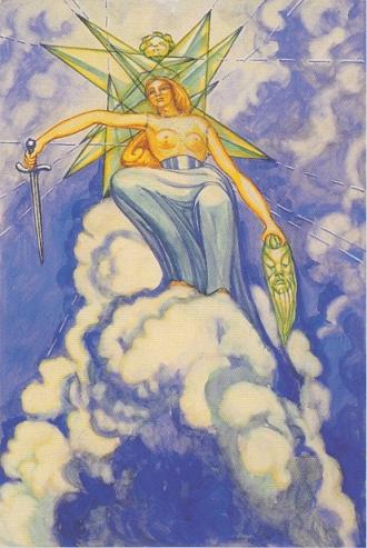 Thoth Queen of Swords