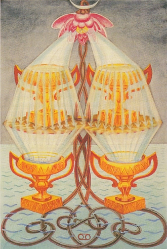 Thoth 4 of Cups