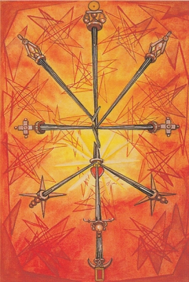 Thoth 10 of Swords