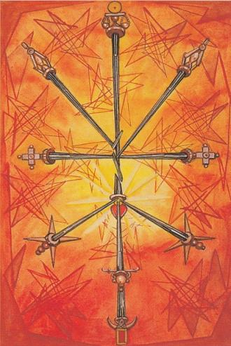 The Ten of Swords