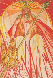 Thoth Queen of Wands
