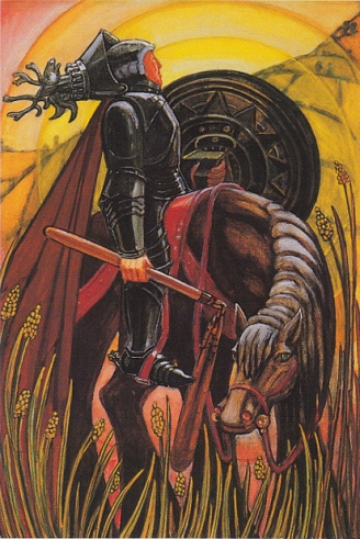 The Knight of Disks