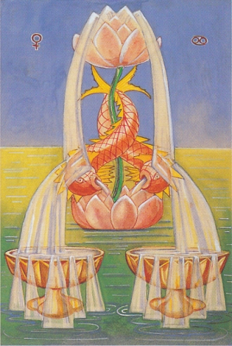 Thoth 2 of Cups