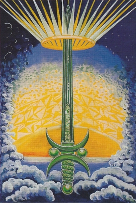 Thoth Ace of Swords