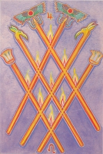 Thoth 6 of Wands