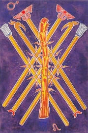 Thoth 7 of Wands