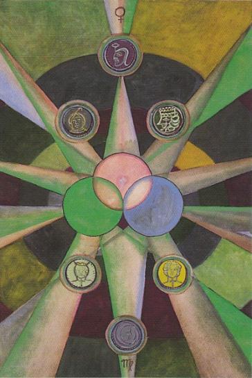 The Nine of Disks