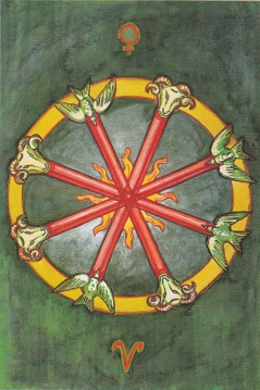 Thoth 4 of Wands