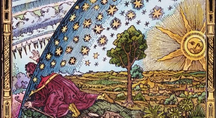 Coloured Flammarion crop