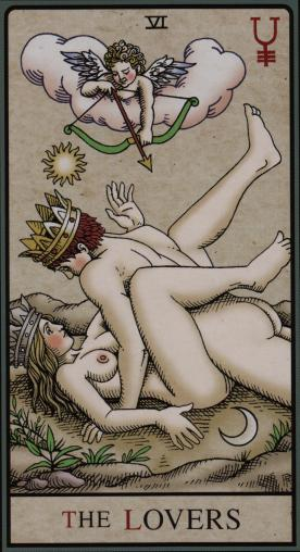 The Alchemical Tarot-The Lovers2