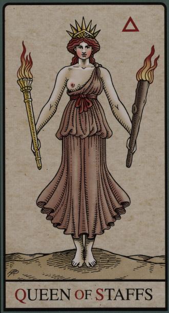 The Queen of Staffs
