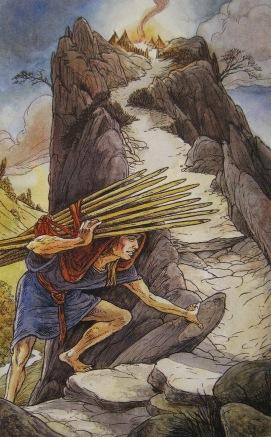 The Ten of Wands