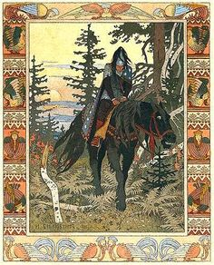 The Black Rider: Ivan Bilibin