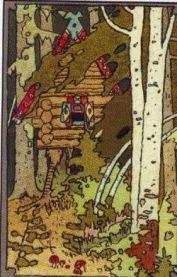 Baba Yagas Hut-Ivan Bilibin