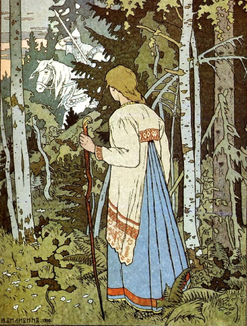 The White Rider: Ivan Bilibin