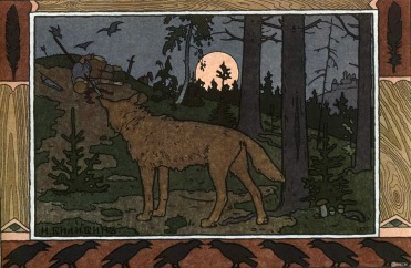 Something is out there-Ivan Bilibin