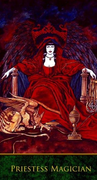 LXXXI-Priestess Magician