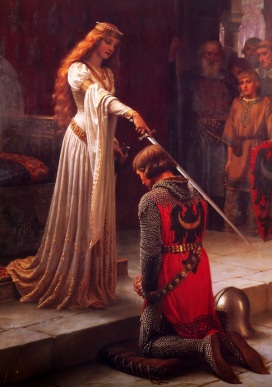 Edmund Blair Leighton- Accolade