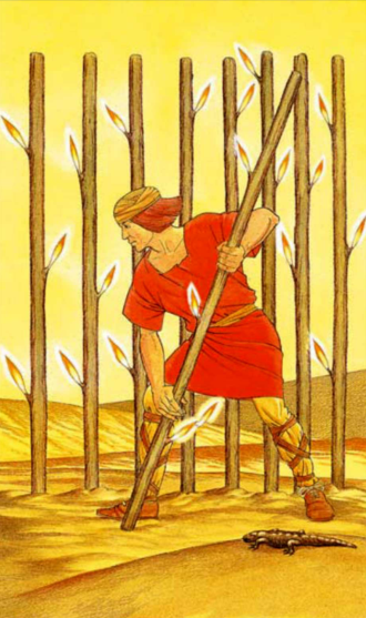 The Nine of Wands