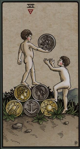The Six of Coins