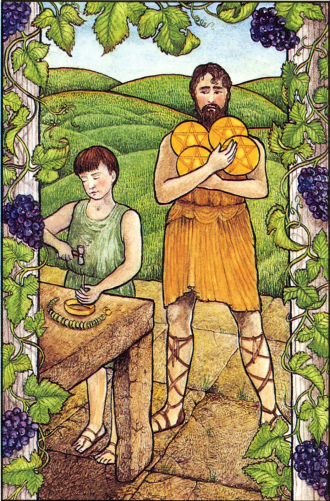 The Four of Pentacles