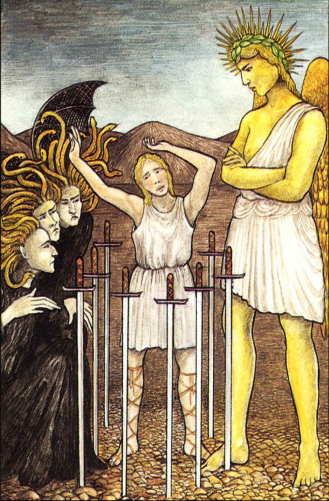 The Eight of Swords