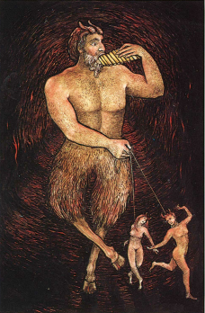 Mythic Tarot-The Devil