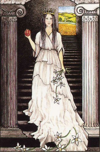 The High Priestess-Mythic Tarot