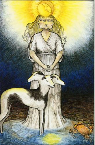 Mythic Tarot-The Moon