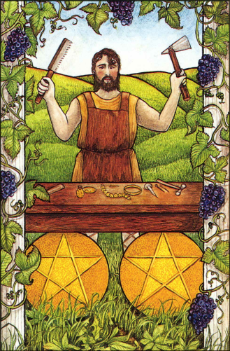 The Two of Pentacles