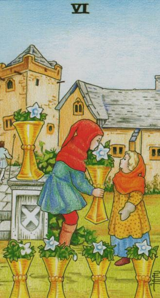 The Six of Cups