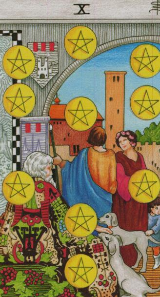 The Ten of Pentacles