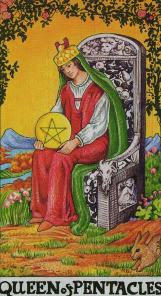 The Queen of Pentacles