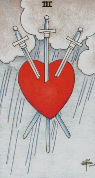 The Three of Swords