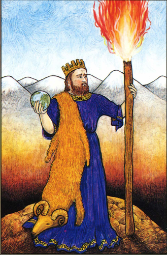 The Ace of Wands