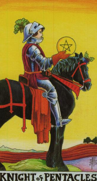 The Knight of Pentacles