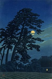 """Full Moon in Magome"" by Kawase Hasui"