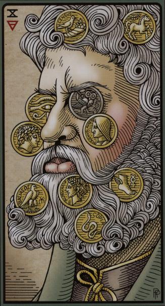 The Ten of Coins